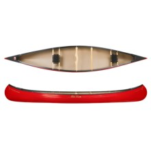 "Old Town Charles River Canoe - 15'8"" in Red - 2nds"