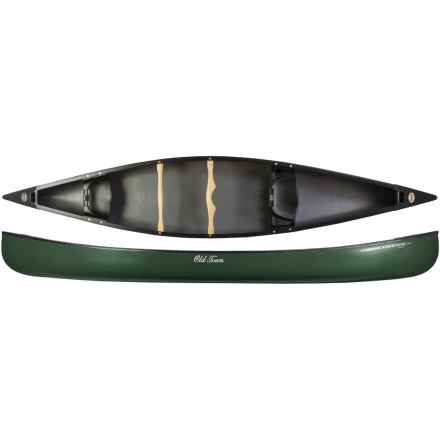 "Old Town Discovery 158 Canoe - 15'8"" in Green - 2nds"