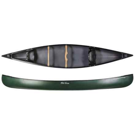 "Old Town Discovery 169 Canoe - 16'9"" in Green - 2nds"