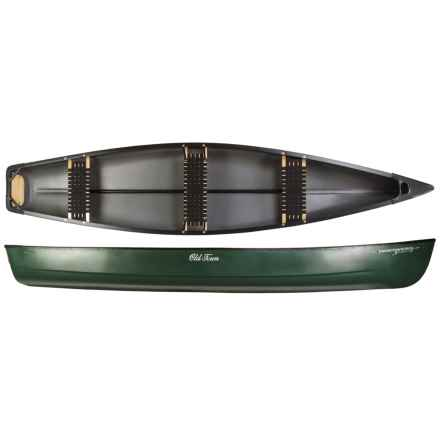 """Old Town Discovery Sport 15 Canoe - 15'3"""" in Green - 2nds"""