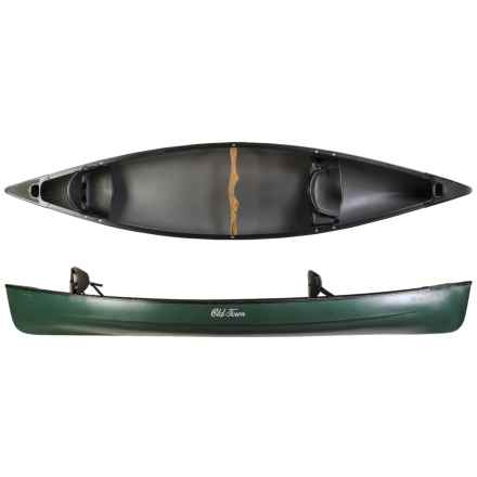 "Old Town Guide 147 Canoe - 14'7"" in Green - 2nds"