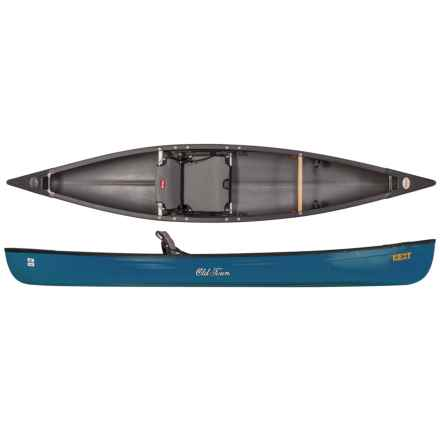Old Town Next 13' Canoe in Aqua - 2nds