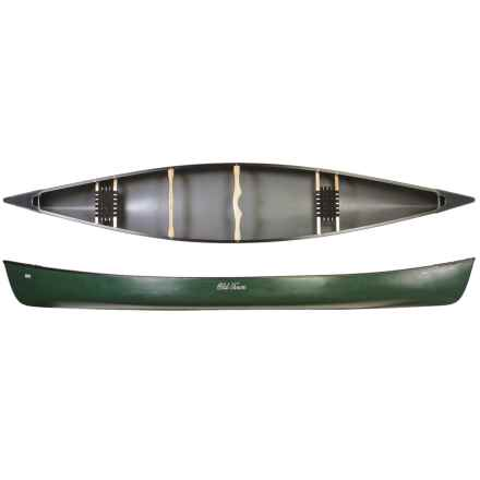 "Old Town Penobscot 174 Canoe - 17'4"" in Green - 2nds"
