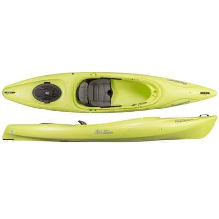 Old Town Vapor 12XT Recreation Kayak - Sit-In in Lemongrass - 2nds