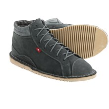 Oliberte Hanobi Leather Boots (For Men) in Dark Grey Nubuck - Closeouts