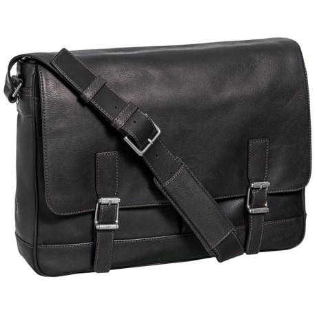 Oliver Messenger Bag - Leather (For Men)