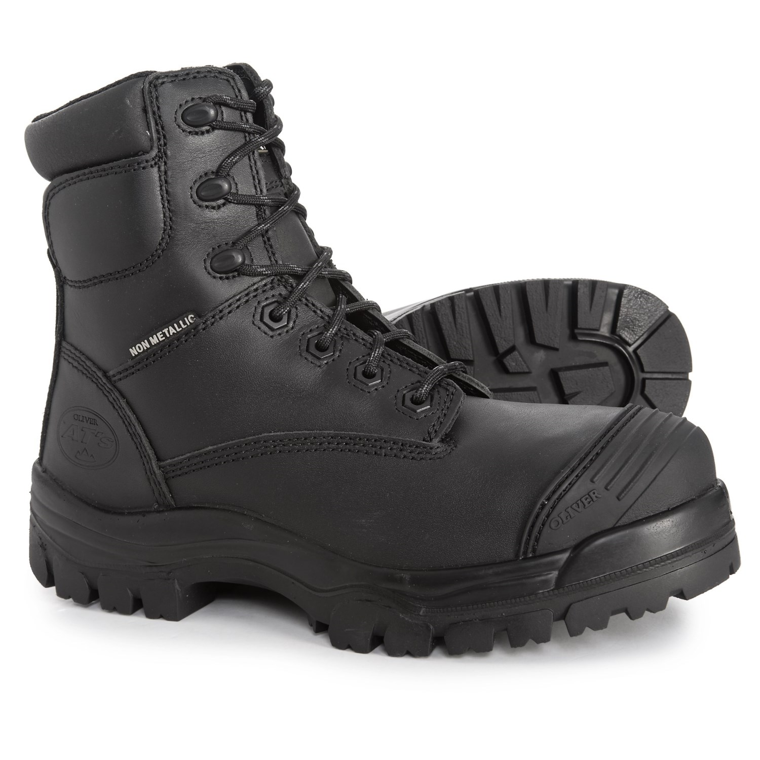 d460e5e8b67 Oliver Zip-Up Work Boots - Composite Safety Toe (For Men)