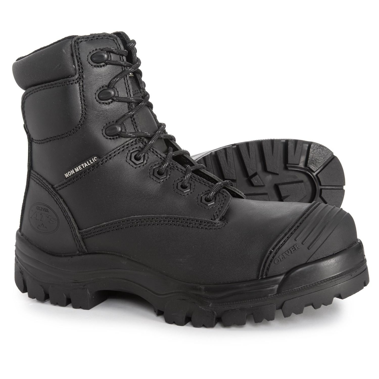 6bbdc14d937 Oliver Zip-Up Work Boots - Composite Safety Toe (For Men)