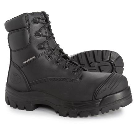 6b1e86755578 Oliver Zip-Up Work Boots - Composite Safety Toe (For Men) in Black