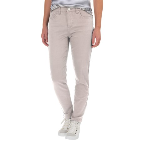 Olivia Slim Stretch Ankle Jeans (For Women)