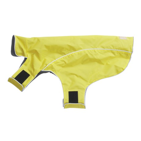 Ollydog Dog Rain Coat - X-Large in Yellow