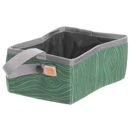OllyDog Lapper Travel Bowl in Bark Kiwi - Closeouts