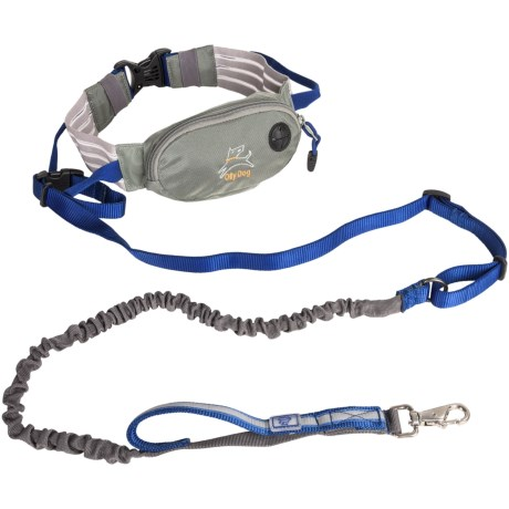 OllyDog Mt. Tam Running Belt and Hands-Free Dog Leash