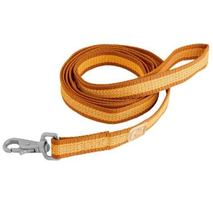 OllyDog MTN Reflective Dog Leash - 6' in Mango - Closeouts