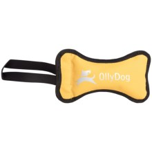 OllyDog Olly Bone II Dog Toy in Yellow - Closeouts