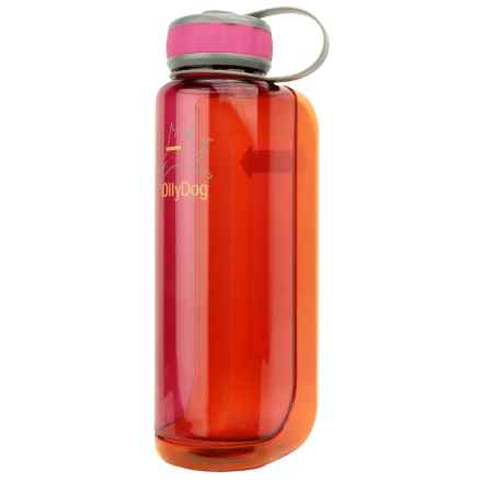 OllyDog OllyBottle Water Bottle - 32 fl.oz. in Pink/Orange - Closeouts