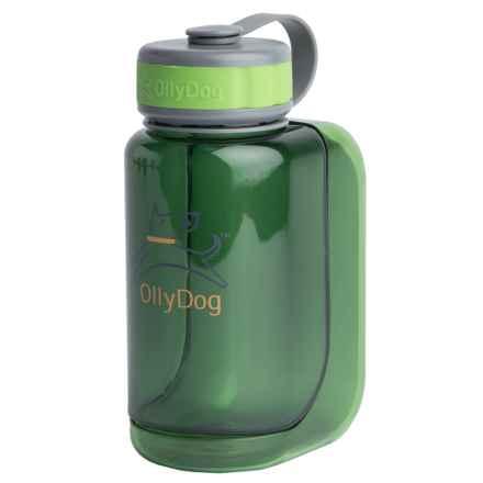 OllyDog OllyBottle Water Bottle - BPA-Free, 20 fl.oz. in Grass - Closeouts