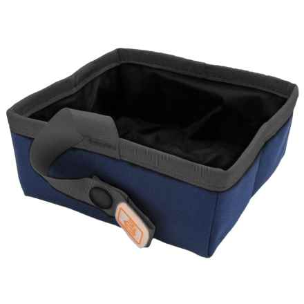 OllyDog Ollydog Sipper Travel Bowl - Small in Navy - Closeouts