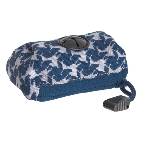 OllyDog Pick-Up II Dog Bags in Navy Houndstooth