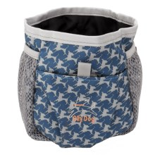 OllyDog Treat Bag Pro in Navy Houdstooth - Closeouts