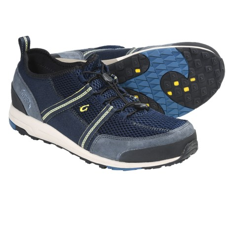 OluKai Kia'i Trainer Shoes (For Men) in Dark Java/Dirt