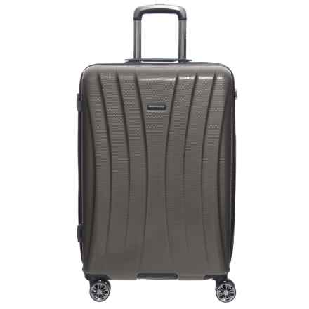 "Olympia 29"" Athena Hardside Spinner Suitcase in Gray - Closeouts"