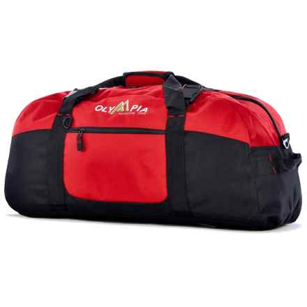 "Olympia 30"" Sport Duffel Bag in Red - Closeouts"