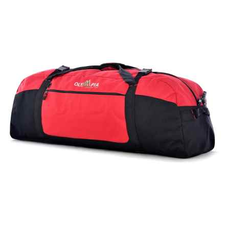 "Olympia 36"" Sport Duffel Bag in Red - Closeouts"