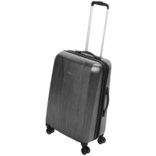 "Olympia Aerolite Carry-On Spinner Suitcase - 20"" in Charcoal Grey - Closeouts"