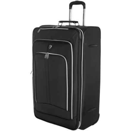 """Olympia Hamburg 30"""" Vertical Rolling Case - Expandable in Black - Closeouts"""