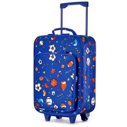 """Olympia Kids Playday Collection Rolling Carry-On Suitcase - 19"""" in Sports - Closeouts"""