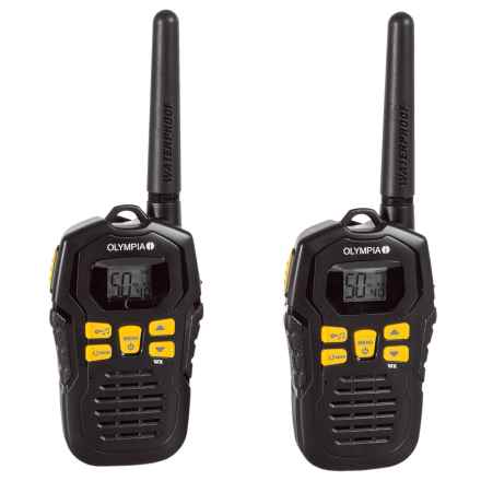 Olympia R100 Two-Way Radios in Black - Closeouts