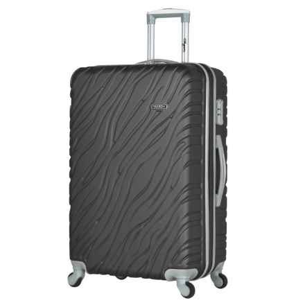 "Olympia Sequoia Hardside Spinner Suitcase - 29"" in Dark Gray - Closeouts"
