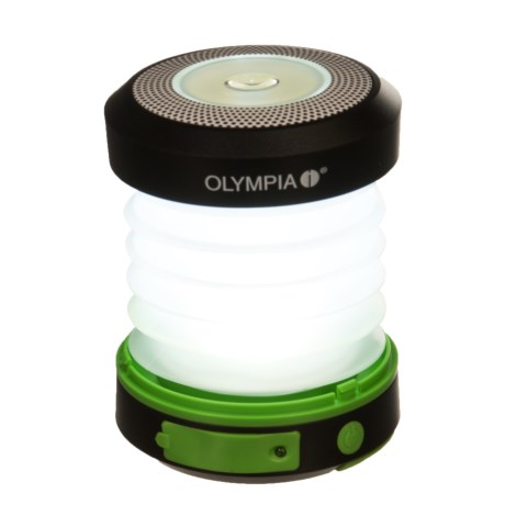 Olympia Solaris LED Lantern and Power Bank - 65 Lumens in Green