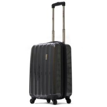 "Olympia Titan Hardside Expandable Spinner Suitcase - 25"" in Black - Closeouts"
