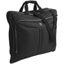 Olympia Vector Folding Garment Bag in Black - Closeouts