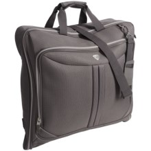 Olympia Vector Folding Garment Bag in Grey - Closeouts