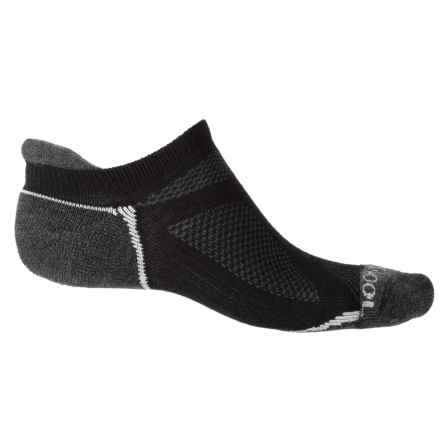 Omni Wool Endurance Pro Light Socks - Below the Ankle (For Men and Women) in Black/Charcoal - Closeouts