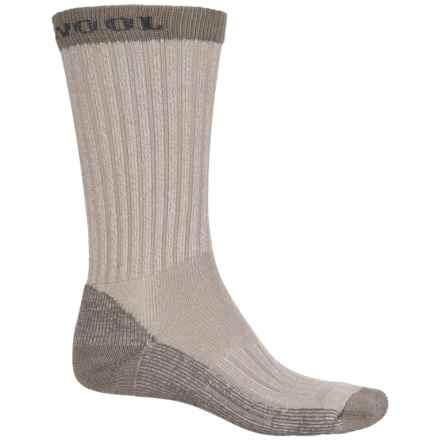 Omni Wool Hiking Pro Socks - Merino Wool, Crew (For Men and Women) in Tan - Closeouts