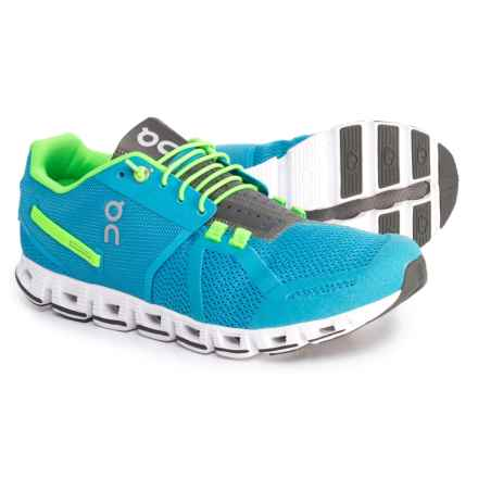 On Cloud Running Shoes (For Men) in Diver/Lime - Closeouts