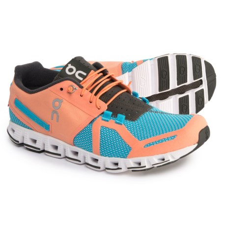 On Cloud Running Shoes (For Women) in Horizon/Coral