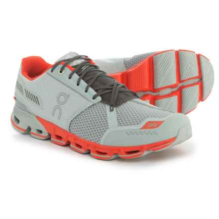 On Cloudflyer Running Shoes (For Men) in Glacier/Spice - Closeouts