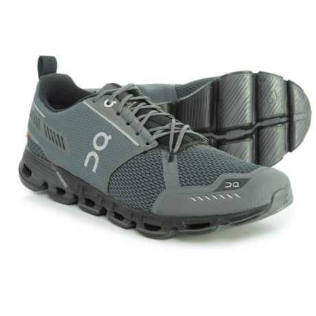 On Cloudflyer Running Shoes (For Men) in Rock/Black