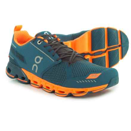 On Cloudflyer Running Shoes (For Men) in Storm/Flash - Closeouts