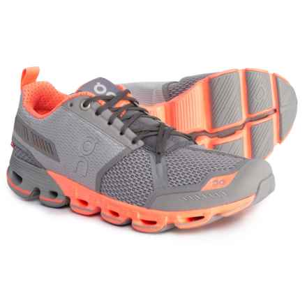On Cloudflyer Running Shoes (For Women) in Slate/Flash - Closeouts