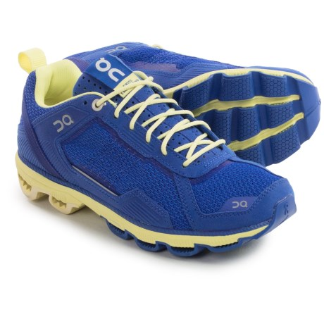 On Cloudrunner Running Shoes (For Women) in Sapphire/Limelight