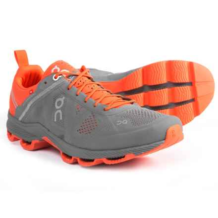 On Cloudsurfer Running Shoes (For Men) in Rock/Orange - Closeouts