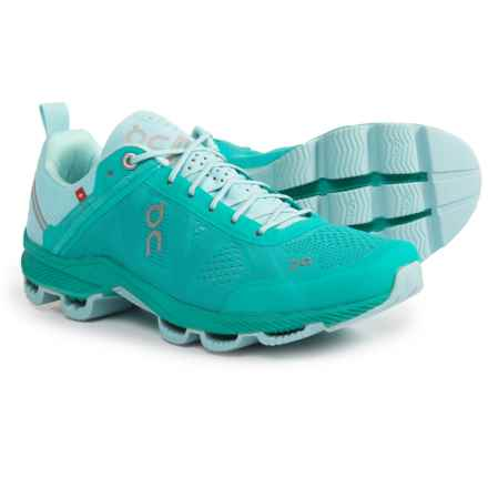 On Cloudsurfer Running Shoes (For Women) in Atlantis/Haze - Closeouts