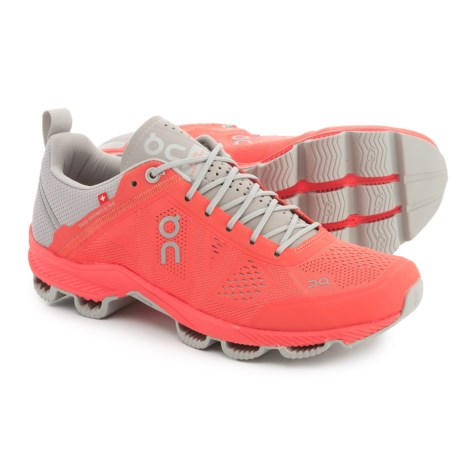 On Cloudsurfer Running Shoes (For Women) in Lava/Glacier