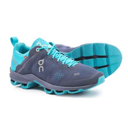 On Cloudsurfer Running Shoes (For Women) in Velvet/Blue - Closeouts